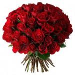 51 красная роза Акция