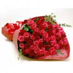 Букет 79 роз Малинка