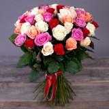 51 роза  Калейдоскоп любви