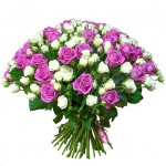 Букет 101 роза №75