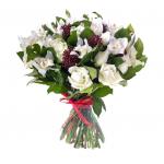 Букет из роз и орхидей 99