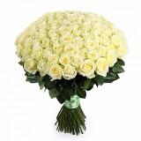 101 белая роза. Акция