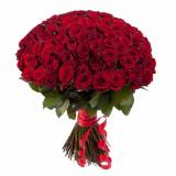 101 красная роза. Акция
