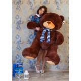 Плюшевый медведь Барт 170 см (Бурый)