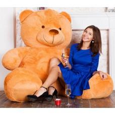 Плюшевый медведь Барт 220 см карамельный