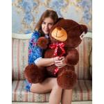 Плюшевый медведь Барт 110 см бурый