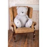 Плюшевый мишка Тедди 130 см серый