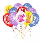 10 воздушных шаров С днем рождения