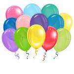 10 воздушных шаров Ассорти